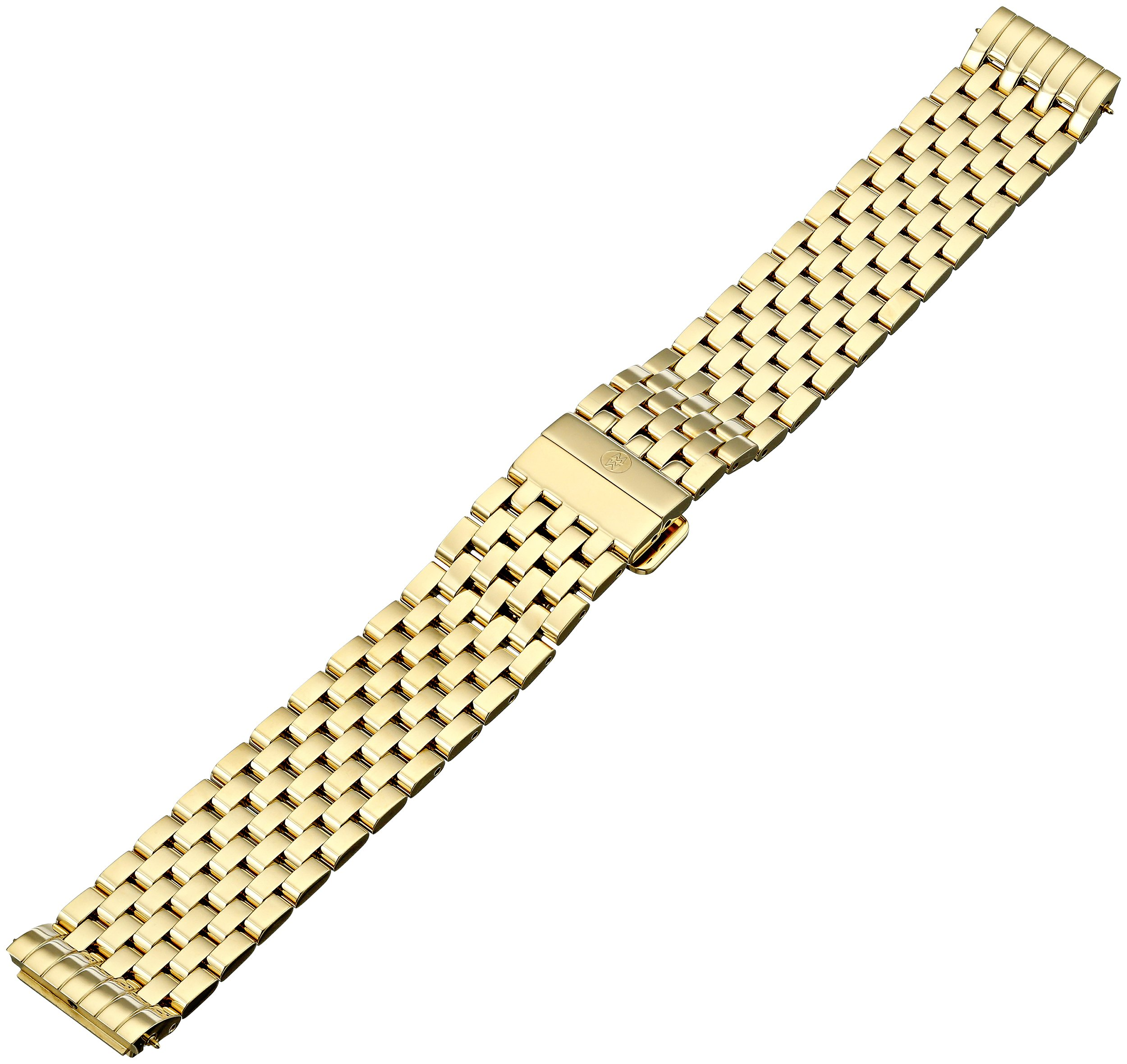 MICHELE Women's MS18EL246710 Deco II Analog Display Gold Watch Band