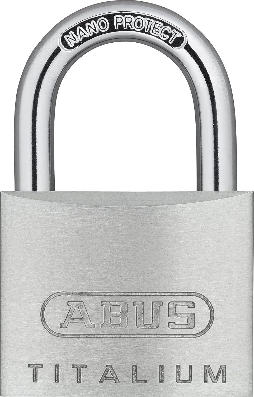 ABUS 64ti//40HB40 Titalium Padlock 40mm x 40mm Long Shackle