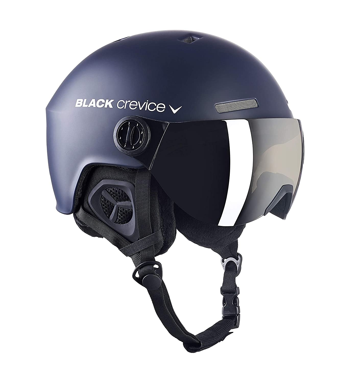 Black Crevice Unisex Adult Ski Helmet Kitzb/ühel Blue L Black//Blue L