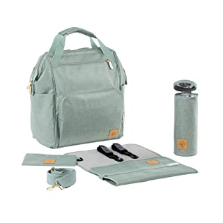 Lassig Women's Glam Goldie Backpack Baby Diaper Bag - Mint