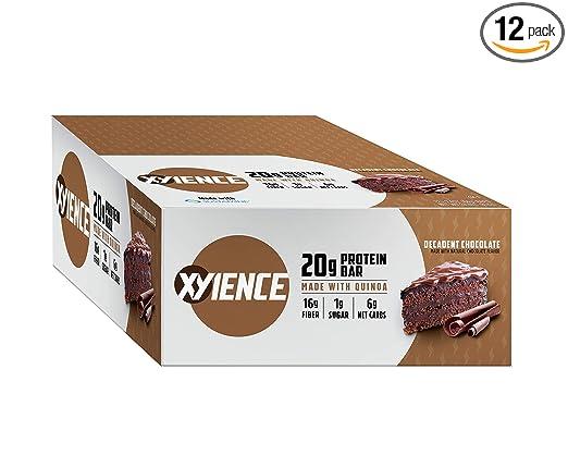 XYIENCE Barras de proteínas de alta calidad, sin OMG, sin ...