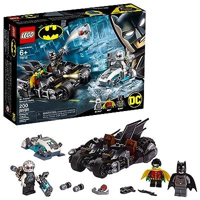 LEGO DC Batman Mr. Freeze Batcycle Battle 76118 Building Kit (200 Pieces): Toys & Games