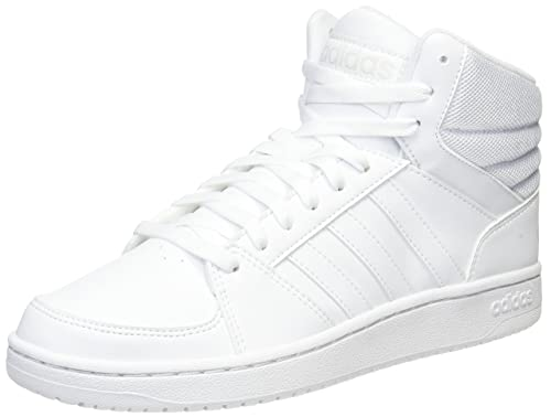 reputable site 45967 84be3 adidas Scarpe Alte in Pelle Vs Hoops Mid COD.CG5711 Col.Ftwht  Amazon.it   Scarpe e borse
