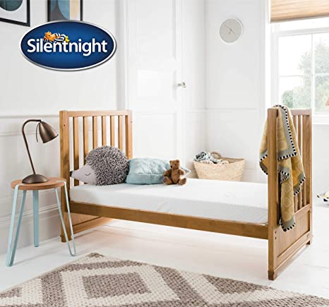 low priced 8638c d1ab2 Silentnight Safe Nights Foam Free Cot & Toddler Bed Mattress | 140 x 70 cm  | Foam & Chemical Free | Suitable from Birth