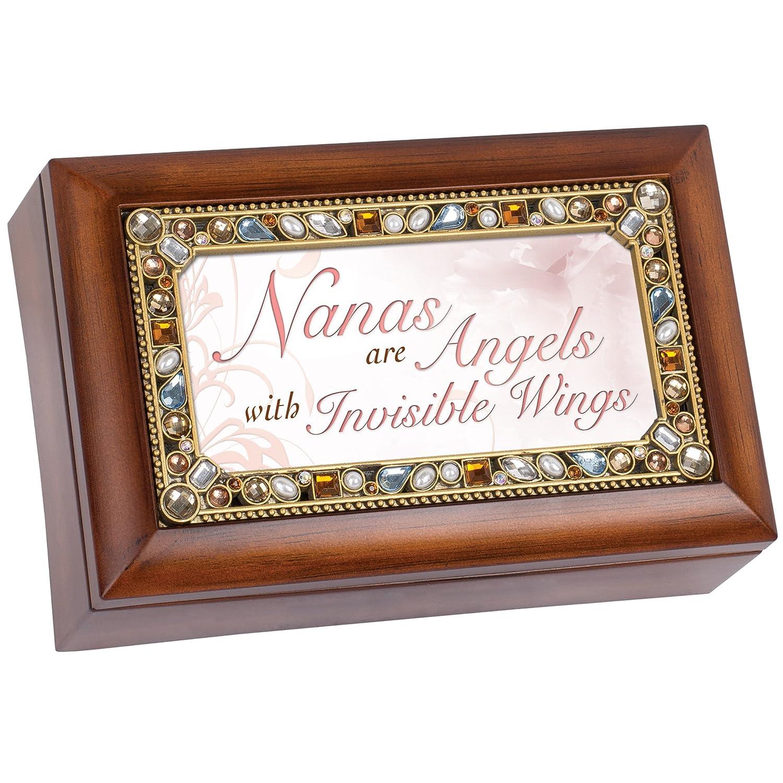 国内最安値! Nanas are angels Jeweled木目調ジュエリー音楽ボックス angels – Plays Tune Tune Fur Plays Elise B00U1Q94OQ, ドライフルーツマルシェ:5db42869 --- arcego.dominiotemporario.com