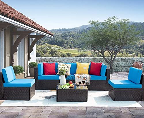 Homall 6 Pieces Patio Outdoor Furniture Set