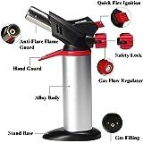 Toolsmart Barbecue Blow Torch Burner Welding Soldering Iron Lighter Flame Gun Gas Butane (Multicolour)