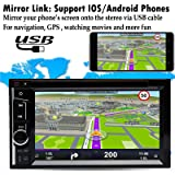 Double 2Din Car Radio with Backup Camera for