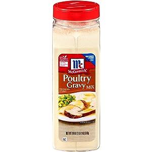 McCormick Poultry Gravy Mix, 18 oz