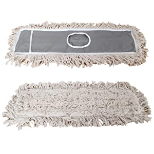 "JINCLEAN 24"" Mop 2 Packs of Refills 