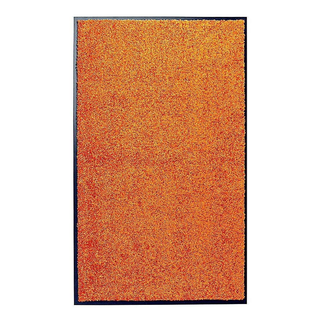 Schmutzfang Fußmatte Wash & Clean orange 101469, Größe 90x150 cm