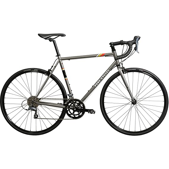 Amazon Com Pure Cycles Classic 16 Speed Road Bike Sports Outdoors