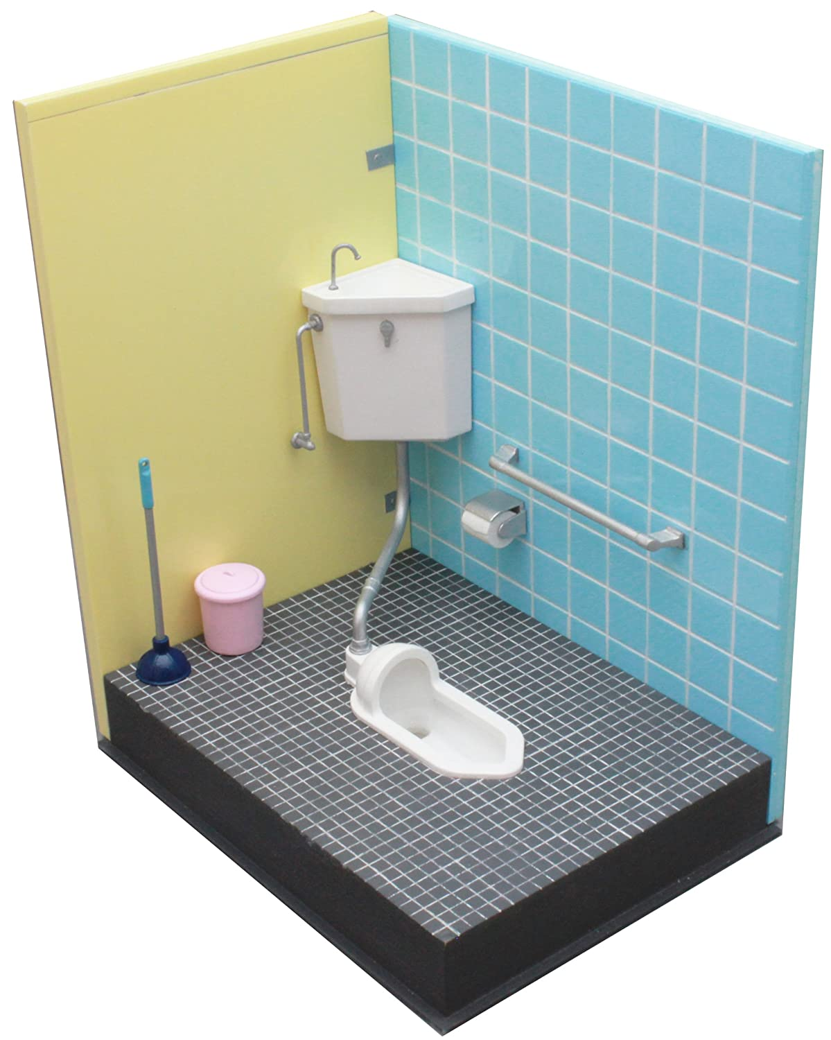 Amazon.com: 1/12 squat toilet of us (japan import): Toys & Games