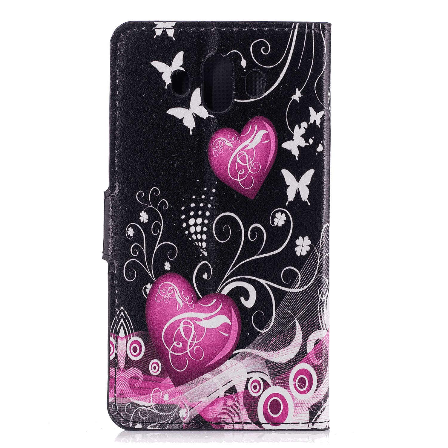 Samsung Galaxy Note8 Flip Case Cover for Samsung Galaxy Note8 Leather Kickstand Cell Phone Cover Luxury Business Card Holders with Free Waterproof-Bag Business
