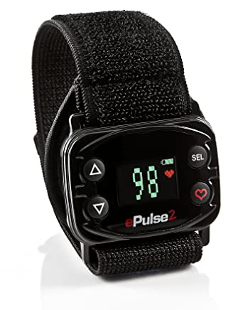 amazon com epulse2 strapless heart rate monitor watch calorie epulse2 strapless heart rate monitor watch calorie counter