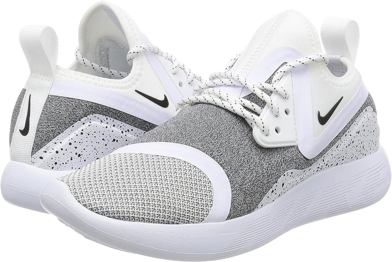 Nike W Lunarcharge Essential, Zapatillas de Trail Running para Mujer, Blanco (White/Black/White 100), 40 EU: Amazon.es: Zapatos y complementos