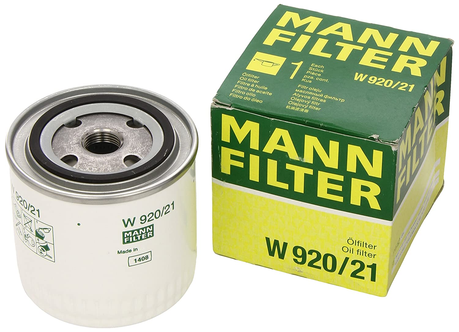 Mann-Filter W 920/21 Spin-on Oil Filter