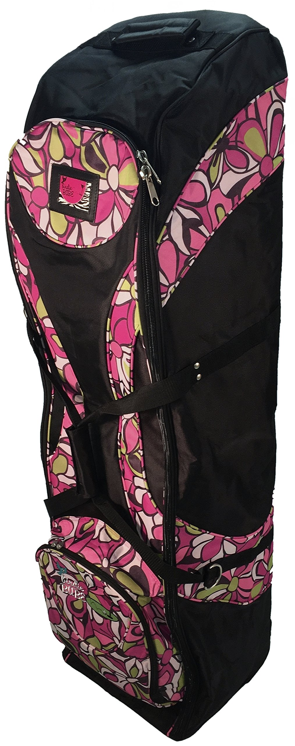 Birdie Babe Ladies Golf Club Bag Travel Cover Pink Flowered by Birdie Babe
