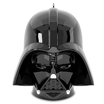 Image Unavailable. Image not available for. Color: Hallmark Disney  Lucasfilm Darth Vader Star Wars Helmet Keepsake Christmas Ornaments - Amazon.com: Hallmark Disney Lucasfilm Darth Vader Star Wars Helmet