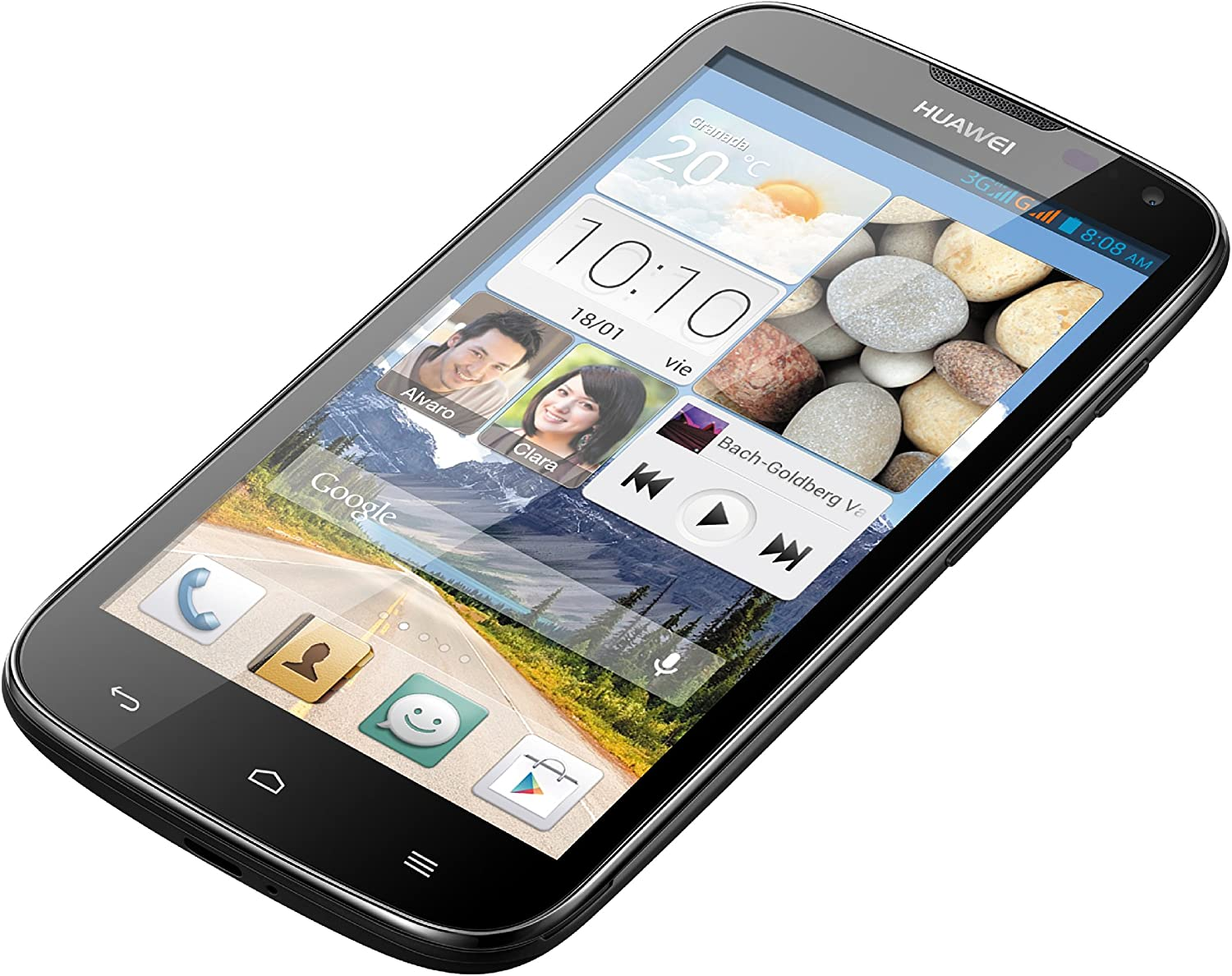 Huawei Ascend G610 - Smartphone libre Android (pantalla 5