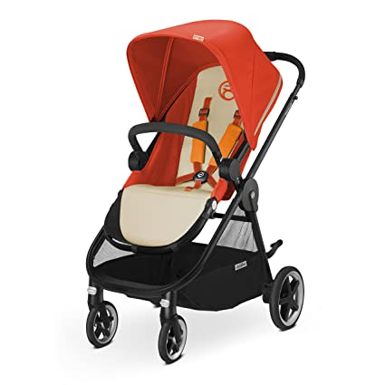 CYBEX Iris M-Air Baby Stroller, Autumn Gold by Cybex: Amazon ...
