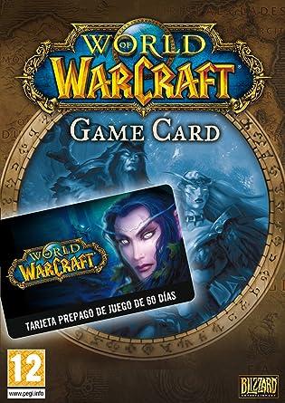 World of Warcraft: Tarjeta de Prepago 60 dÍas Card | Código ...