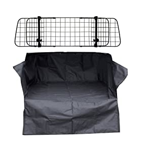 Quilted Boot Liner For Range Rover Evoque L358 2011-2018 Deluxe Mesh Dog Guard