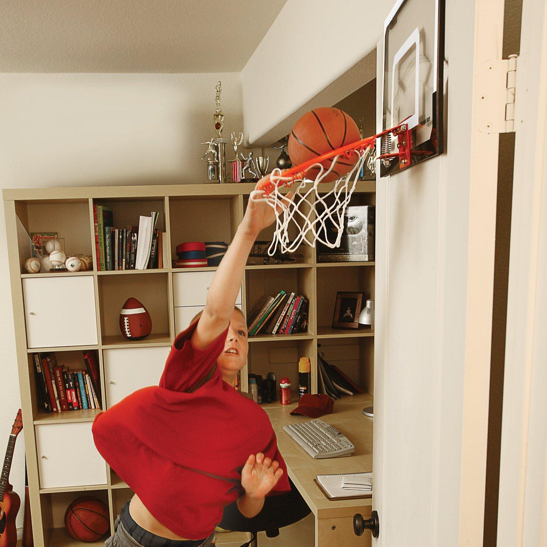 Indoor Basketball Hoop Mini W/ Ball Over Door Wall Mount
