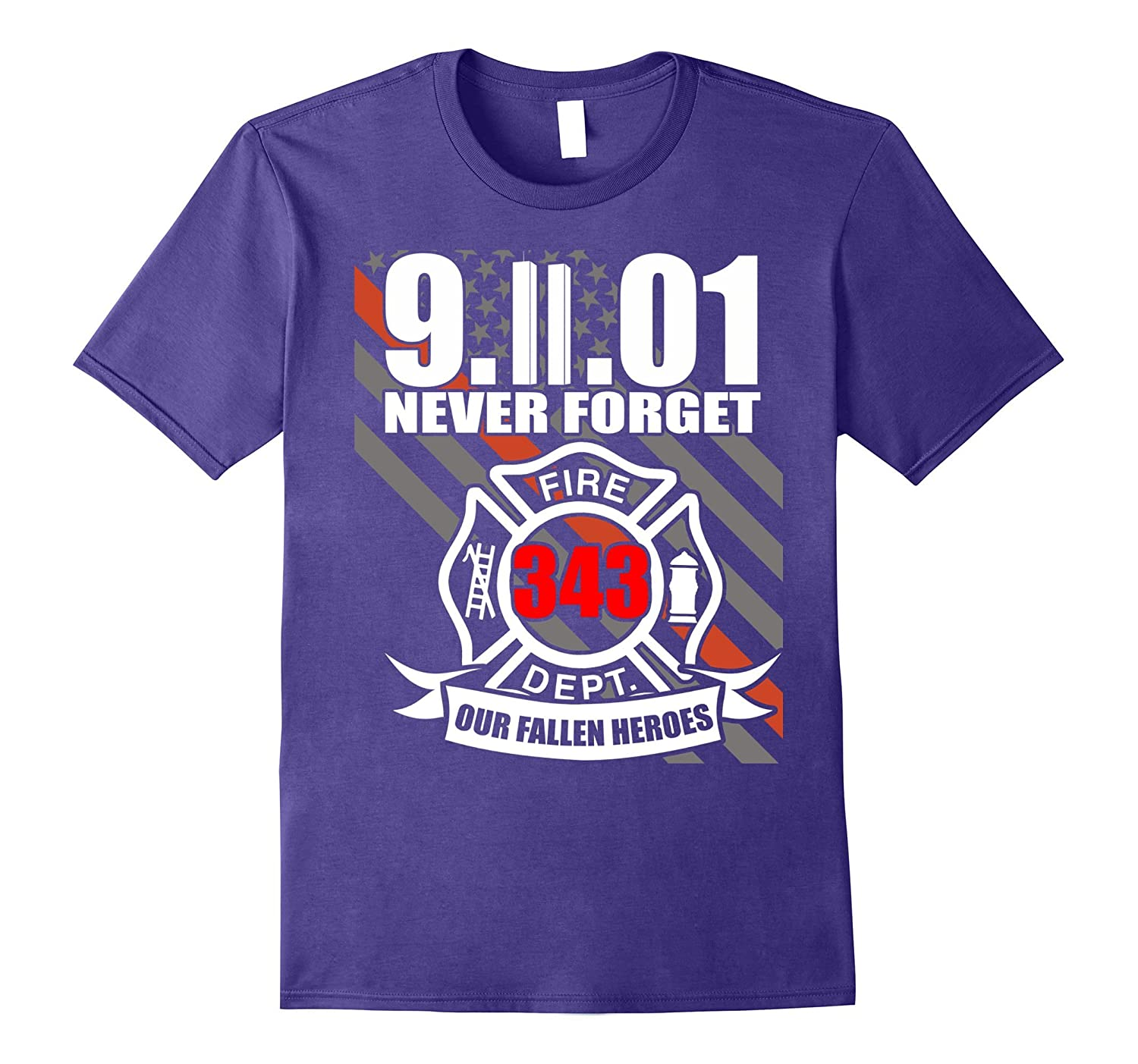 9.11.01 Never forget 343 heroes - Patriot memorial day-CL