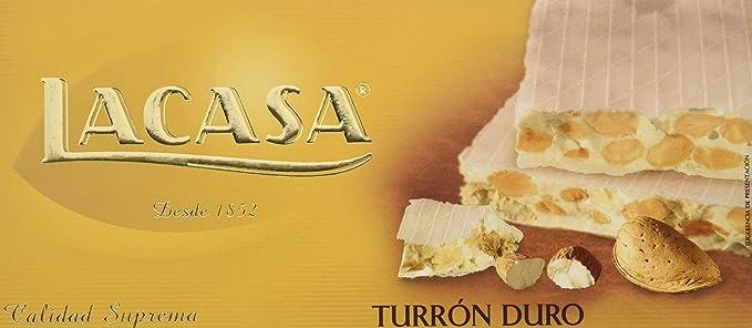 Lacasa Turrón - 200 gr - [Pack de 8]: Amazon.es: Alimentación y bebidas