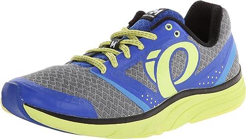 Pearl Izumi - Zapatillas de running para mujer azul azul, Blue-Gray-Neon, 43: Amazon.es: Zapatos y complementos