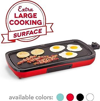 Dash DEG200GBRD01 Pancakes Griddle Pan