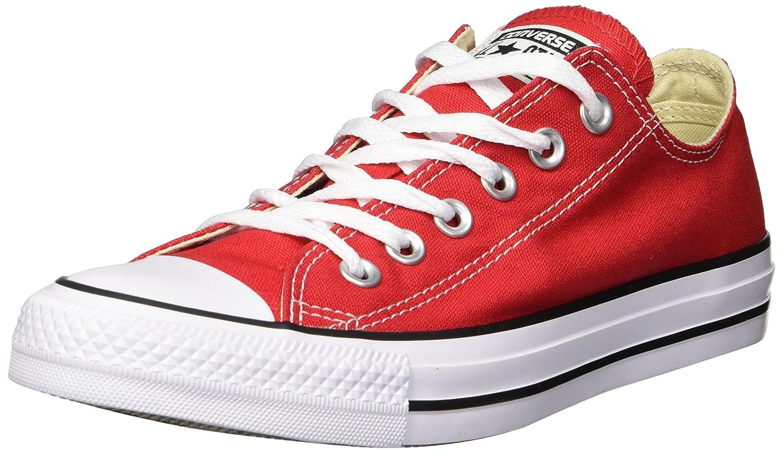 Converse AS Hi Can charcoal 1J793 Unisex-Erwachsene Sneaker  37.5 EU (M) Mujer/37 EU (M) Hombre|Rot