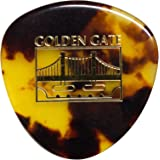 Golden Gate MP-12 Deluxe Tortoise Style Mandolin Pick - Rounded Triangle - Dozen