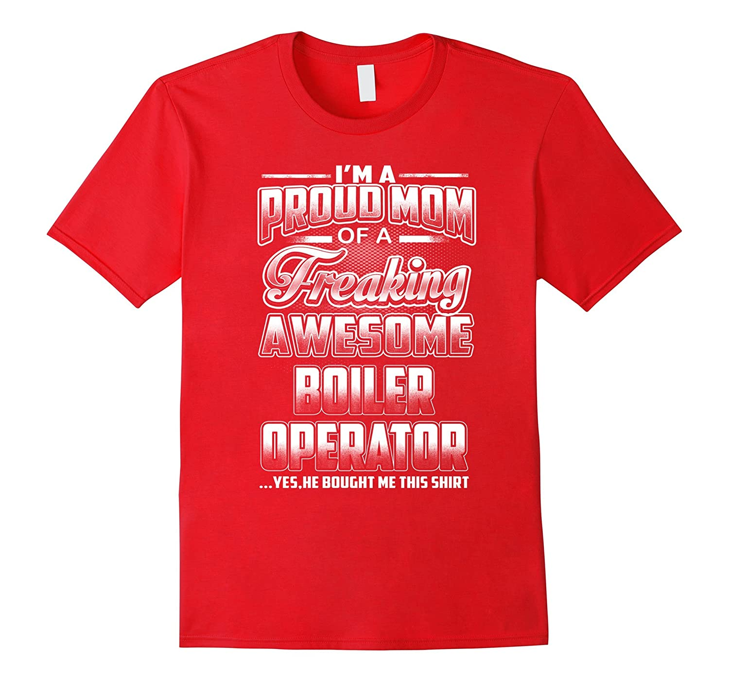 Boiler Operator Mom T-shirt-Art