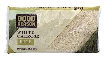 Good Reason White Calrose Rice