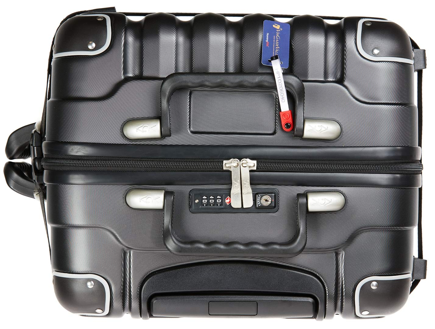 VinGardeValise - Up to 12 Bottles & All Purpose Wine Travel Suitcase (Black) by VinGardeValise (Image #6)