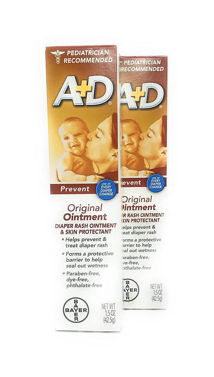 A+D Original Ointment - 1.5 oz, Pack of 2 BAYER CONSUMER