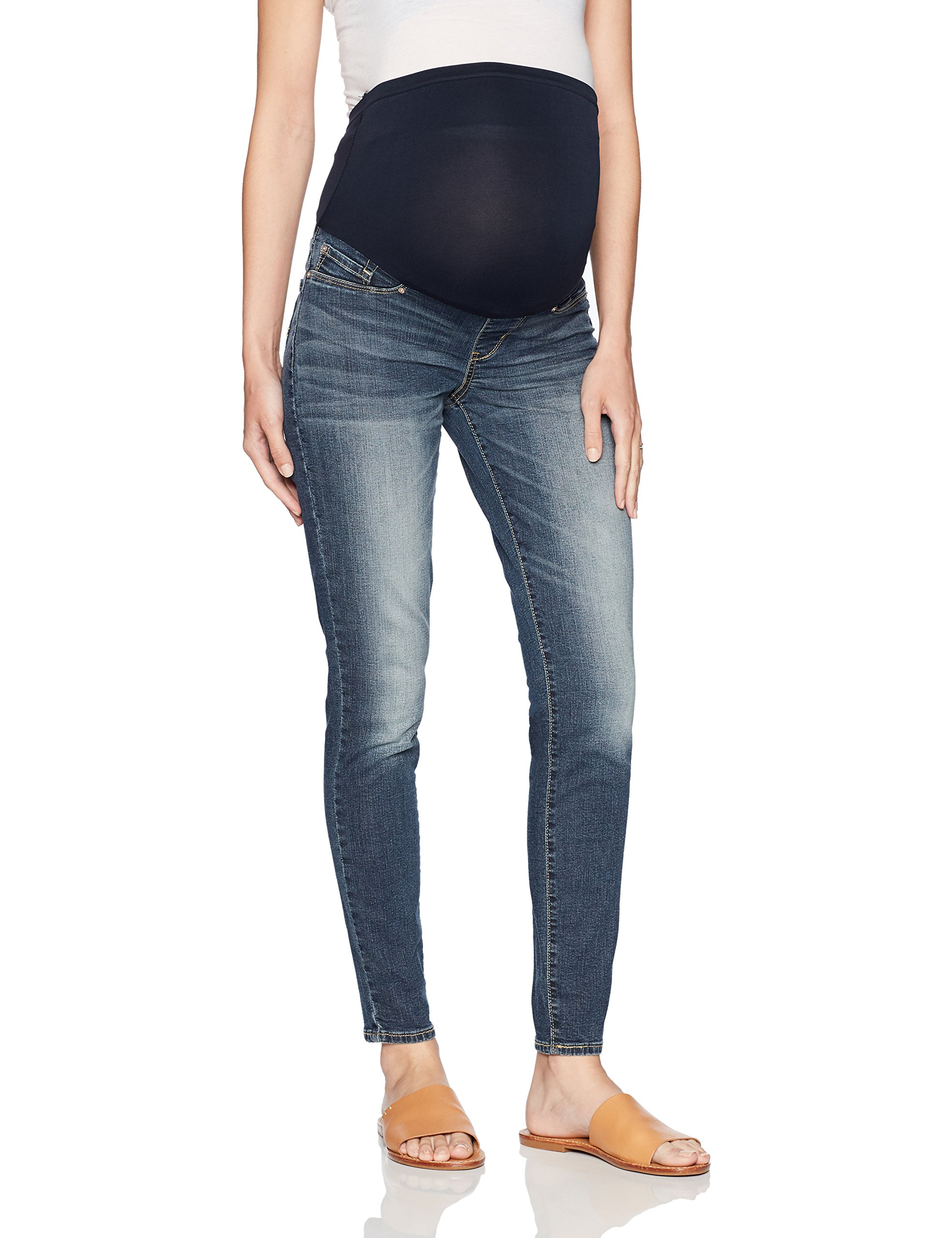 Signature by Levi Strauss & Co. Gold Label Women's Maternity Skinny Jeans, Bombshell, Medium