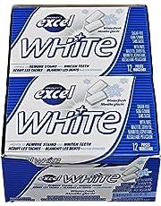 Excel White Sugar-Free Gum, Winterfresh, 12 Count
