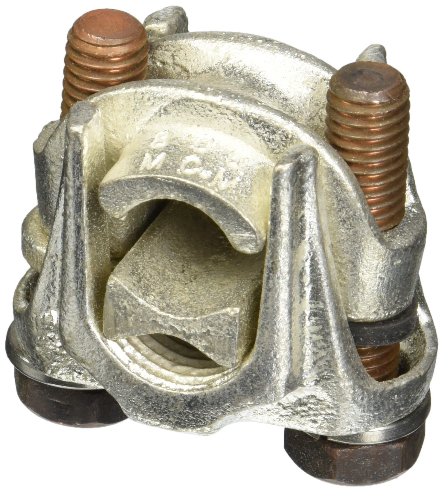 Two-Bolt Bronze Plated Tap Connector 800 MCM - 600 MCM- 1 Count