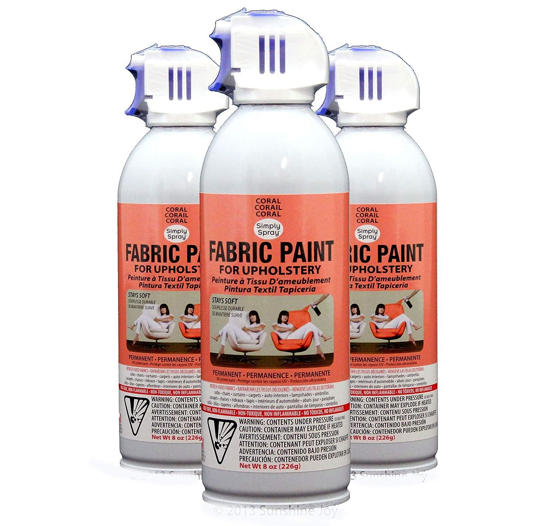 Amazon Com Simply Spray Upholstery Fabric Spray Paint 8 Oz Can 3