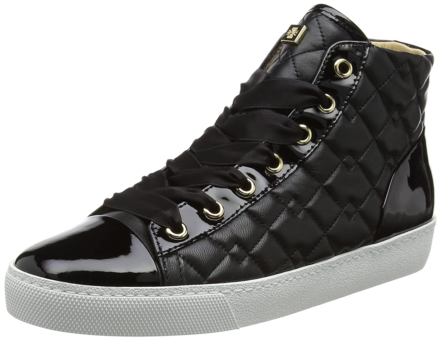 5 UK H/ÖGL Women/'s 4-10 0360 0100 Hi-Top Trainers Black