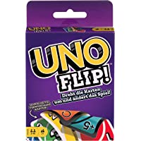 UNO Mattel Games Juegos de Mesa Flip Nuevo Juego de Cartas +7 Años Board Game