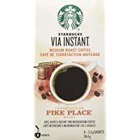Starbucks VIA Instant Pike Place , Pike Place, 96 Count (Pack of 12)