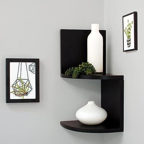 kieragrace Retro Shelves, Set of 4, Black