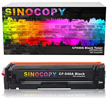 SinoCopy CF540a - Tóner XL Compatible con HP 203X 203A CF540X ...
