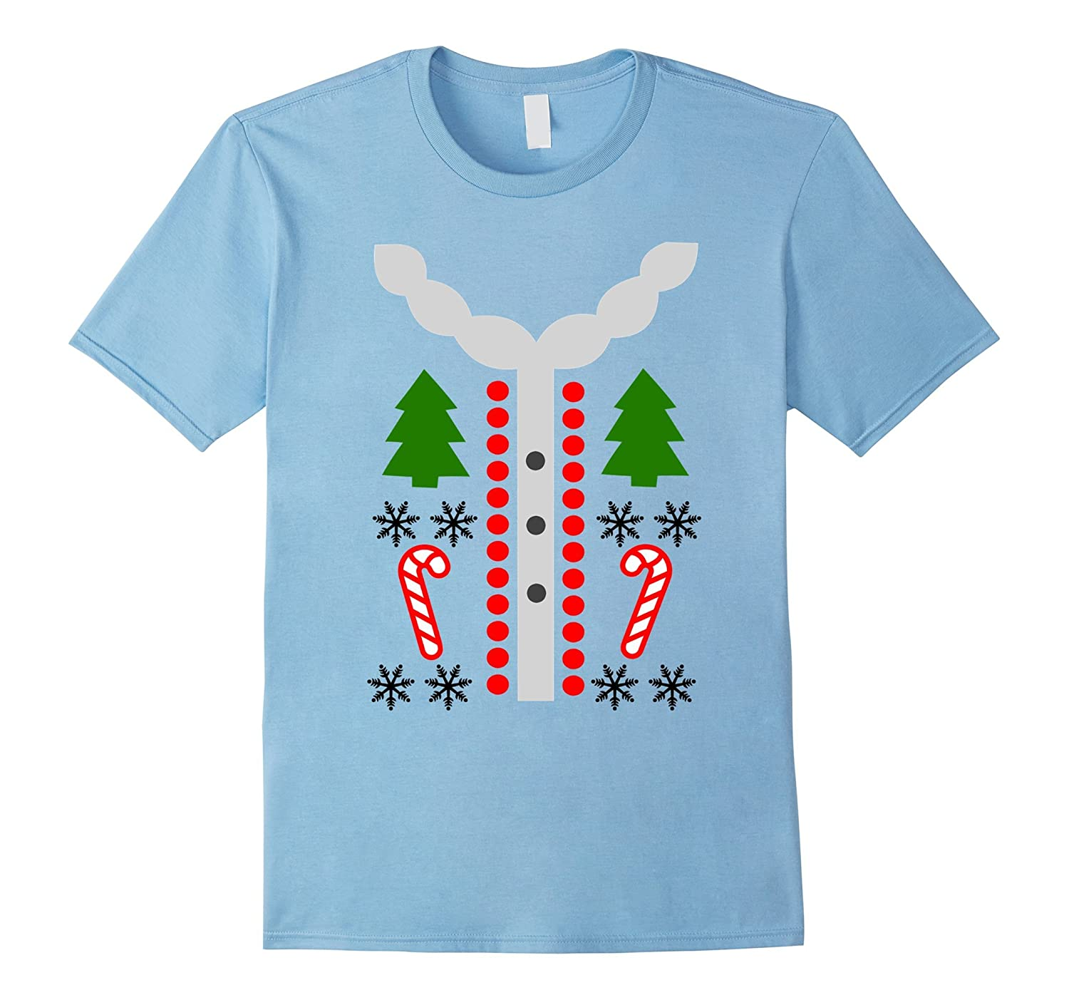 Ugly Tacky Christmas Holiday Party Sweater T-Shirt-ANZ