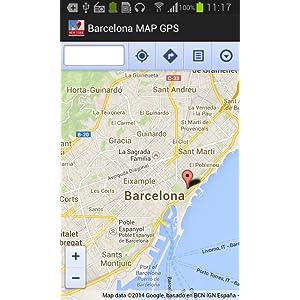 Barcelona Mapa y GPS: Amazon.es: Appstore para Android