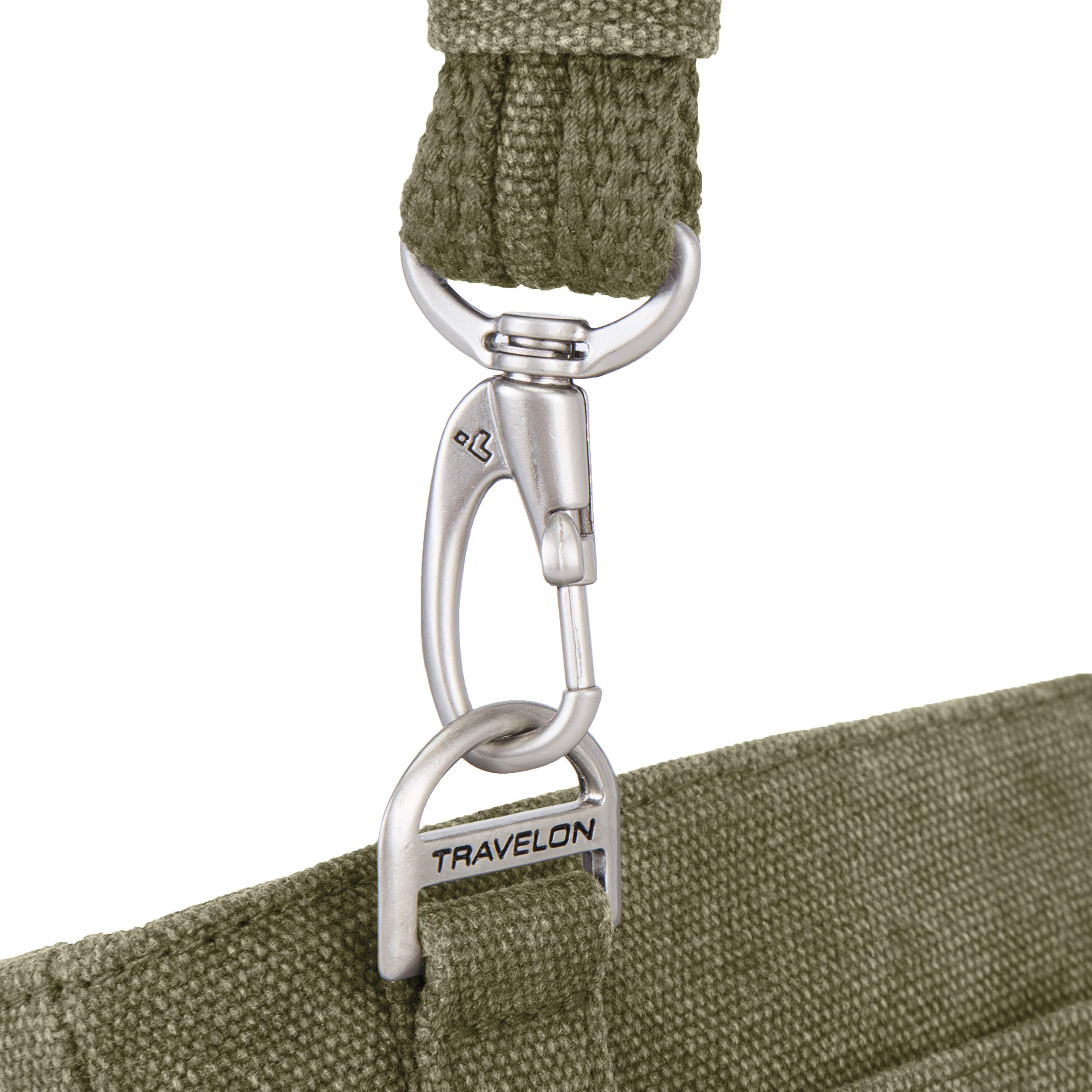 Travelon Anti-Theft Heritage Cross Body Bag, Sage, One Size by Travelon (Image #8)